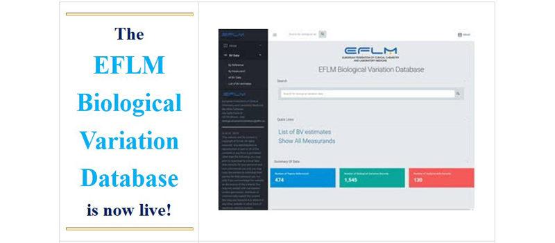 EFLM Biological Variation Database